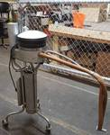 This is an antique Sanborn oxygen generator / concentrator