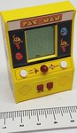Not much to this Pac Man hand held game but if you're playing under the covers it could be fun. It does work