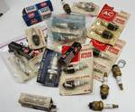 NOS collectible or antique vehicle spark plugs