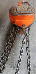 Serious heavy duty commercial 1 ton chain hoist