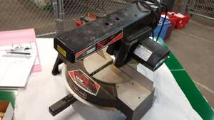 "Sears 7-1/2"" radial arm miter saw"