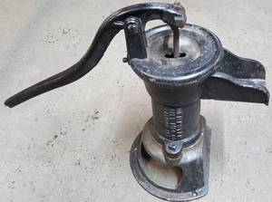 Prime that pump or attach it to your well water line