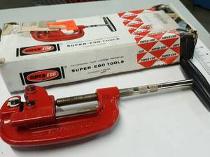 Nos Super Ego Tools 1/8 inch to 2 inch #701 Steel pipe cutter