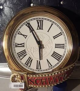 Schlitz Light Clock