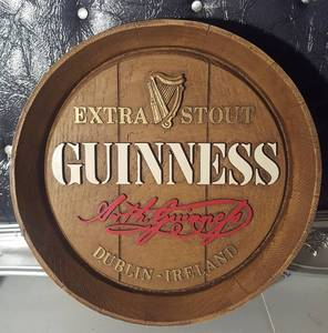 Guinness Extra Stout Keg Barrel Face