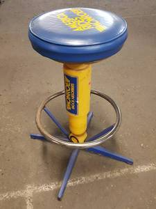 Cool counterman's stool
