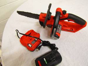 Not much use on this 18 Volt B&D FireStorm chain saw