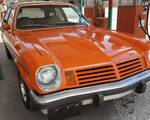 This ain't no V8 Vega, it's a 1974 V6 Vega Kammback wagon and a fun sleeper hot rod