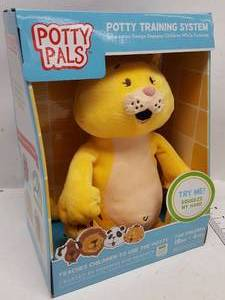 Katie Kitty Potty Pals Potty Training system Stuffed Animal