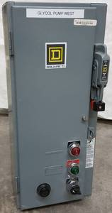 Wow, this Square D electrical box is loaded up with components