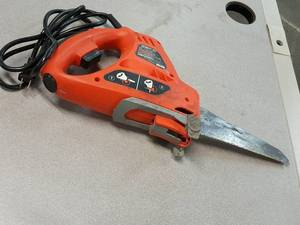 This Black & Decker Navigator power saw looks handy