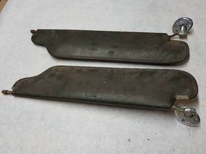 Pair of original sun visors again guessing Mustang