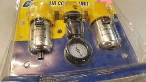 Shop air compressor control kit
